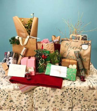 The Country Living Plastic-Free Secret Santa - Plastfria presentförpackningstips